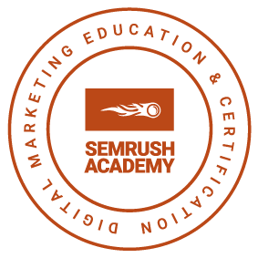 semrush Academy Marketing certified